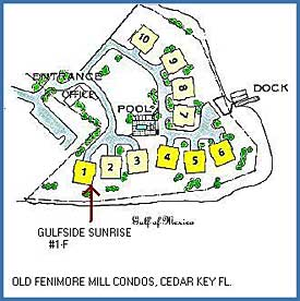 Location Map for Gulfside Sunrise