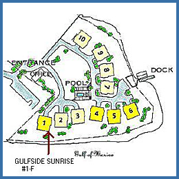 Location Siteplan for Gulfside Sunrise